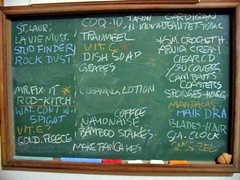 Chalk board - list, notes (by greenhem)