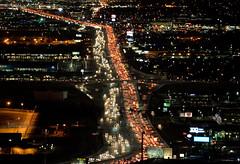 Gridlock (JasonCameron) Tags: night light road interstate 15 fifteen utah traffic bumper bumbper fridlock drive freeway