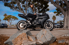 DSC_9238 (Steven Lenoir) Tags: yamaha yamahar1 r1 yammie sportbike sportsbike streetbike teamyamaha moto motorcycle harborisland sandiego sd model downtownsandiego bay