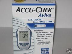 my new Accu-Chek Aviva meter