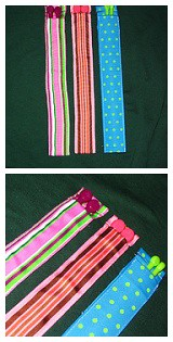 Ribbon Knitting Needle Cases