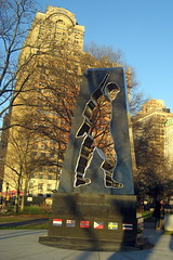 NYC - Battery Park: Korean War Veterans Memorial