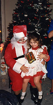 Christmas, somewhere between 1987-1990