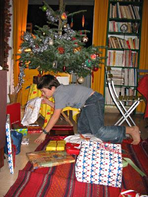 distribution de cadeaux