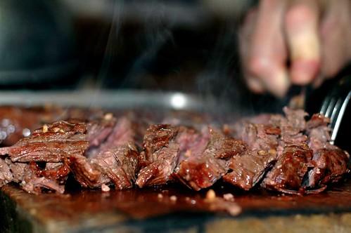 Mmmm ... steak