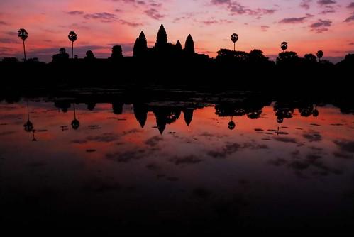 Kambodscha - Sonnenaufgang in Angkor Wat