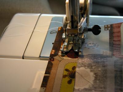 5. Sew Casing