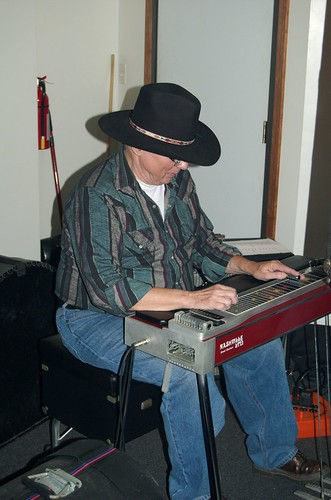 Pedal Steel player