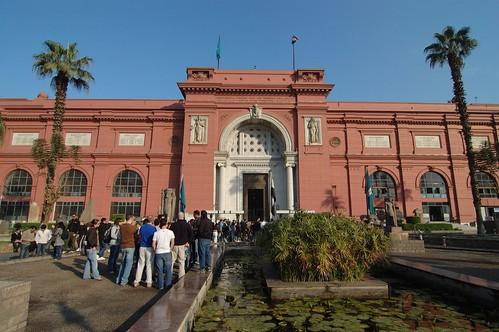 Museo egizio en el Cairo
