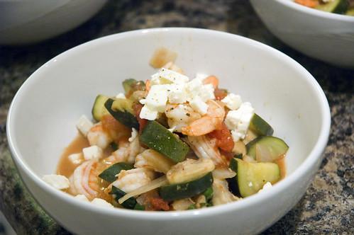 Shrimp Skillet Dish