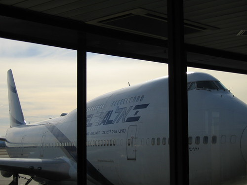 El Al Plane - Prior To Departure