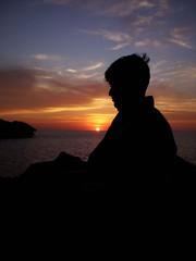 Thinker ll (Aliraza Khatri) Tags: pakistan sunset olympus karachi sindh gadani fe180