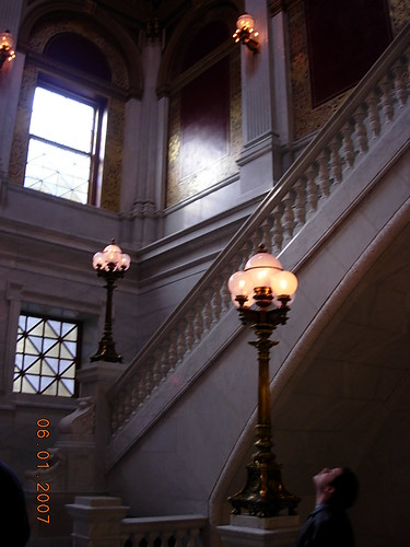 Ohio Capital Grand Stair Hall