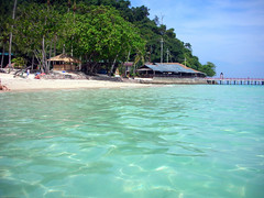 Beach, Koh Ngai Resort