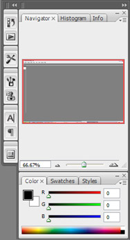 Photoshop CS3 Navigator