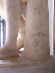 Roma, Musei Capitolini (M.Pardy) Tags: rome portraits escultura copia estatua firma antiquities romansculpture museicapitolini inscripción epigrafía policleto