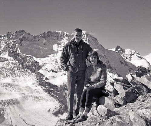 Bob and Solveig in the Alps