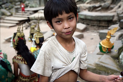 Chu's Lollipop (mboogiedown) Tags: cambodia camboge cambogia cambodian kampuchea khmer child ta prom angkor siem reap reab seimreab province temple lollipop january december beatravelernotatourist travelforpeace peopleiwillneverforget hopelessfriendmaker play reasontolearnkhmer itsallaboutthepeople soksabay ifthephotographerisinterestedinthepeopleinfrontofhislensandifheiscompassionateitsalreadyalottheinstrumentisnotthecamerabutthephotographerevaarnold khmersmile