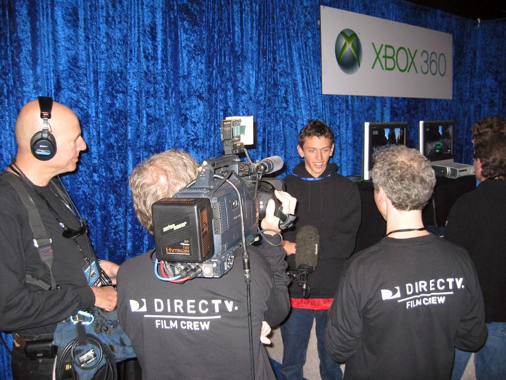 TTR Ch0mpr being interviewed by DirecTV - LIVE - TTR Team Technique Racing