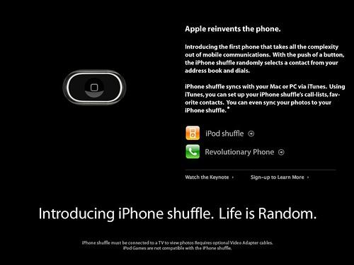 iPhone shuffle