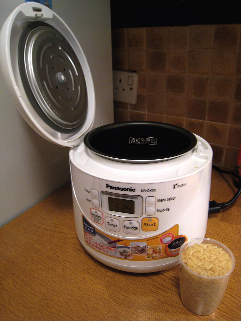 Rice cooker preparation