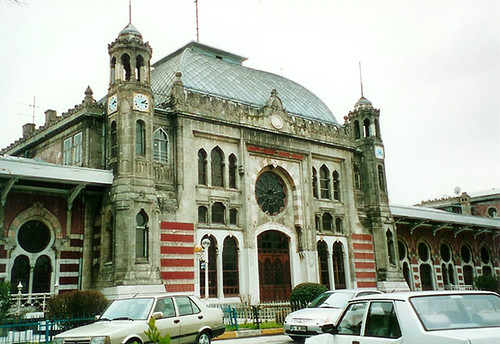 Istanbul - Sirkeci Station, at the edge of Europe