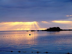 Sunset Mauritius (Liv ) Tags: ocean travel blue sunset sea 2 sun 3 nature colors topv111 tag3 landscape island 1 photo interestingness topv333 tag2 colours tag1 blu tag ivan nikond100 explore 09 planet mauritius riflessi isola clubmed lazzari supershot laiv nikond80 impressedbeauty aplusphoto wowiekazowie laivphoto vanagram