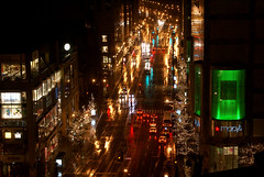 Rainy Night on the Mag Mile