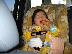 Ree squeals with joy over her Chicken McNugget