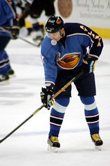 Bubble Yum! (kaatiya) Tags: hockey gum atlantathrashers ilyakovalchuk