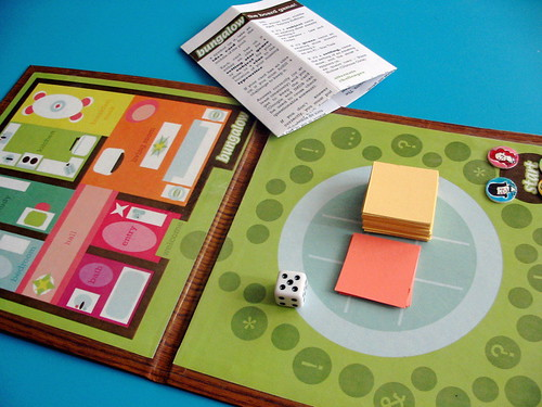BUNGALOW: the game: the game board