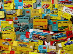 Dinkys, Corgis, Solidos ... (Photomechanica) Tags: toys corgi matchbox solido lesney dinkytoys