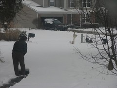geoff shoveling