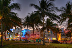 ocean drive, miami (willy gil) Tags: canon flickr florida 1022mm 30d photomatix williamgil