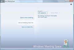 Windows Vista Windows Meeting Space