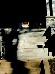 Ray On the Chair (Kenny Shackleford) Tags: house building home georgia chair steps structure frontporch cartersville