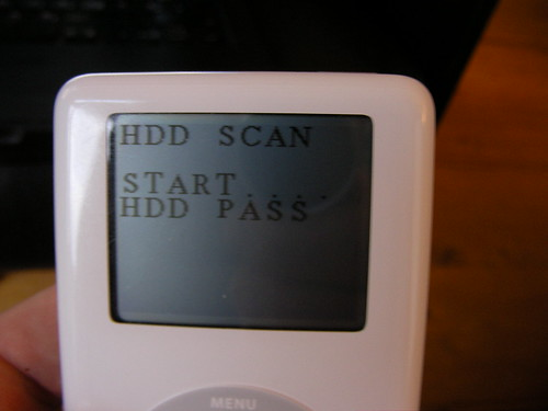 HDD Scan Passed