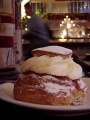 The first semla of the year by northofsweden