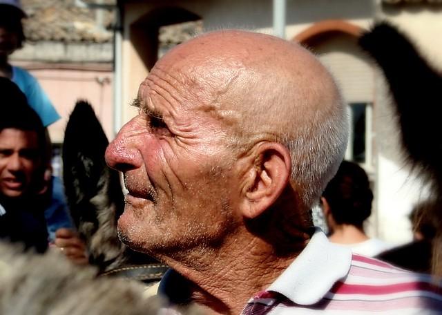 portrait people man profile uomo elderly aged ritratto ciccio sicilian siciliano anziano profilo