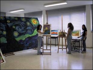Il laboratorio di disegno