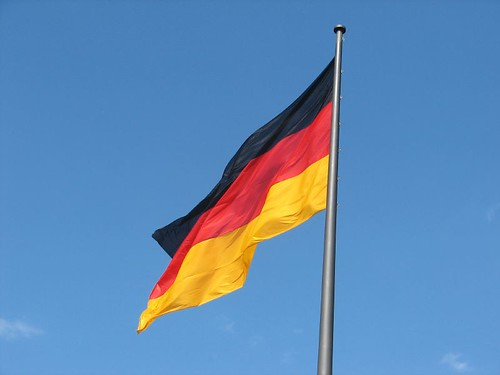 German Flag, Berlin by Will Palmer.