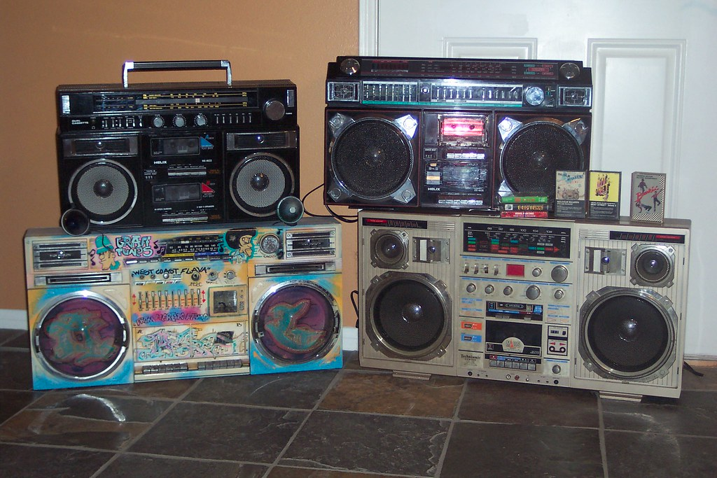 Ghettoblaster Topic Old School Boomboxes