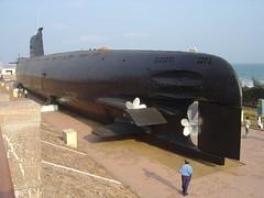 Submarine Museum at Vizag's RK Beach