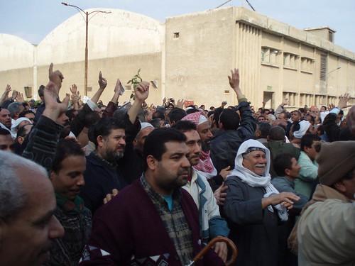 Kafr el-Dawwar Strikers (Photo by Hossam el-Hamalawy)
