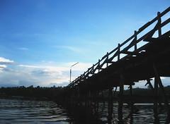 i'm blue (bonnenuit) Tags: bridge burma kanchanaburi wodden pc2006