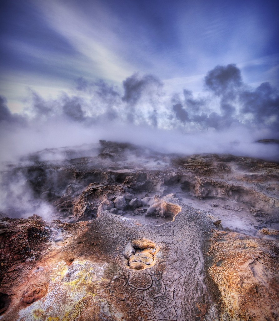 Not of this Earth - The Bubbling Sulfur Pools of Iceland