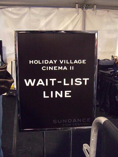 Sundance - Tues. 01/23