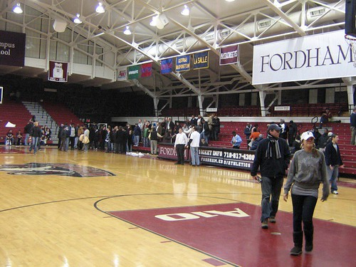 Fordham Rose Hill Gym U Mass