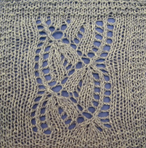 Knitting Yarn Over Slip Stitch : Day Flower The Walker Treasury Project