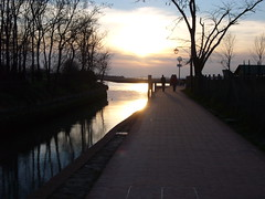 sunset in torcello